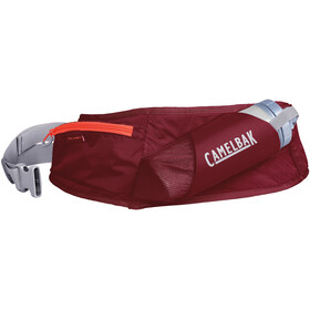 CamelBak Flash Hydration belt 500ml, burgundy/hot coral